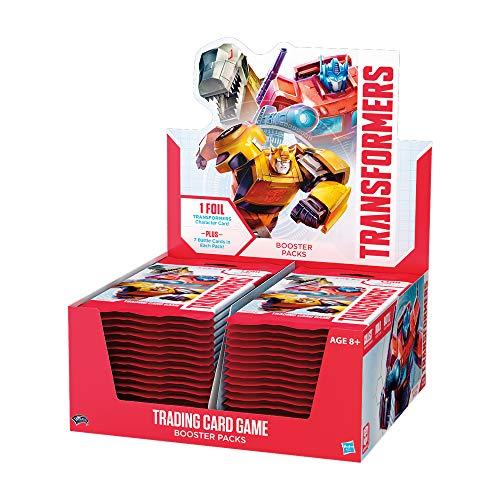 Wizards Of The Coast Wtcc57270000Transformers Jeu de Cartes à Collectionner Booster écran, mélange de Couleurs