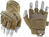 Mechanix Wear MFL-72-009 M-Pact Fingerless Guanti, Coyote, Medium