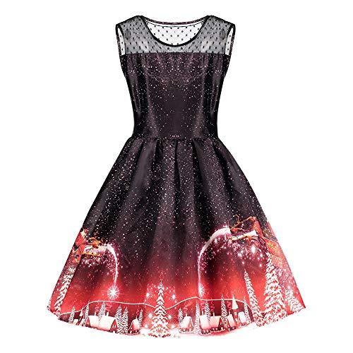 Yvelands schwarz Chiffon Kleid polokleid rot Kleid Gold -
