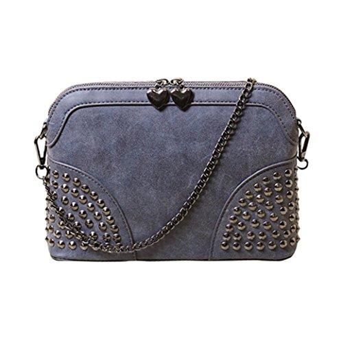 Transer Women Shoulder Bag Popular Girls Hand Bag Ladies Leather Handbag, Borsa a spalla donna Blue 26cm(L)*19(H)*6cm(W) Blue