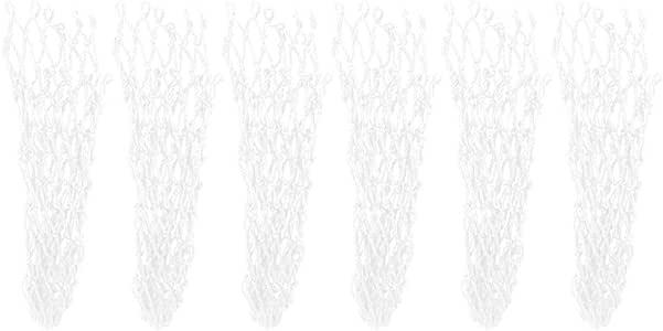 Snooker Netz Billard Netz 6 Teile//Satz Schmutzfester Baumwollfaden Billardtisch Ersatz Netz Pocket Netze Billard Pool Snooker Tisch Net Mesh Tasche Zubeh/ör