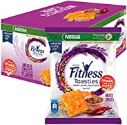 FITNESS Toasties Mixed Spices Bag 36g (14 Bags)