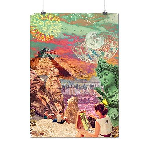 Sublimieren Landschaft Mode Künstler Hersteller Mattes/Glänzende Plakat A3 (42cm x 30cm) | (Hersteller Kostüm China)