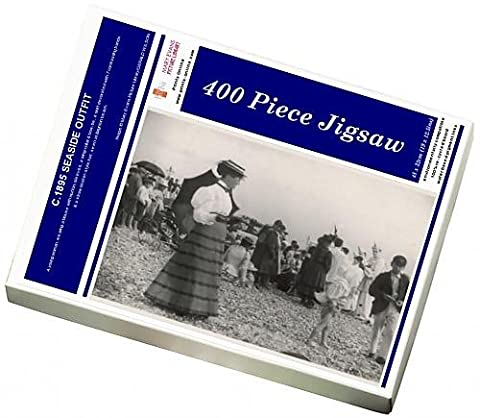 Photo Jigsaw Puzzle Of C.1895 Seaside Outfit