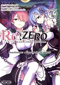 Re:Zero - Deuxième arc : Une semaine au manoir Edition simple Tome 1