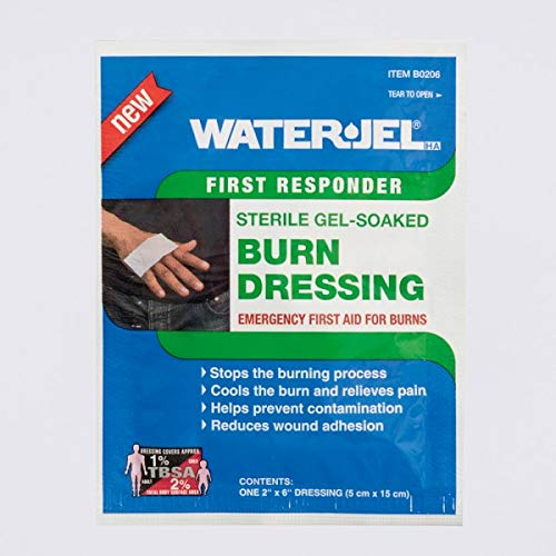 Water Jel Burn Dressing (Burn Dressings - WATER-JEL 2 x 6 (15/Box) by Water Jel)