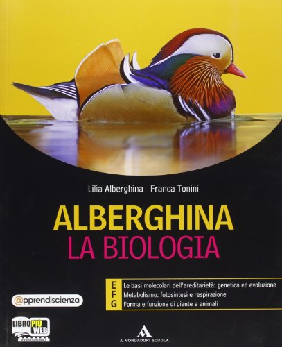Alberghina. La biologia. Vol. E-F-G. Per i Licei e gli Ist. magistrali. Con espansione online: 3