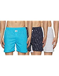 Longies Men's Printed Boxers