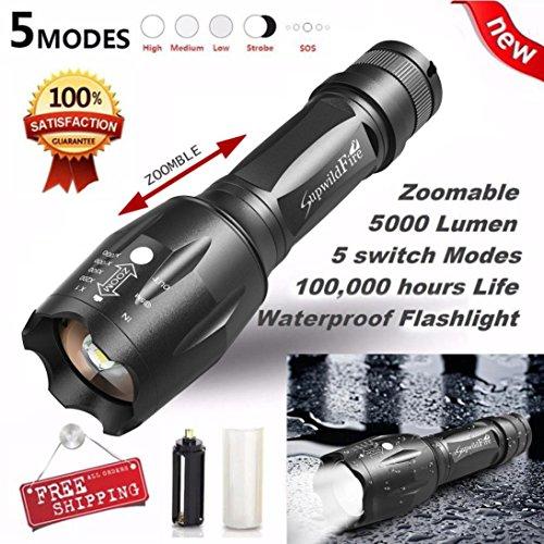 Preisvergleich Produktbild Taschenlampe, hevoiok Frontleuchten echtem X800Tactical Taschenlampe G700LED Military Taschenlampe Kit Taschenlampen Head Light Taschenlampe Lampe Beleuchtung Scheinwerfer