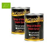 Sonderangebot : 2 X Kanadischer Ahornsirup 100% natürlich - Premiumauswahl : 540ml - Grad A