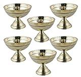 Best RoyaltyLane Lampes de table - ensemble de 6 lampe à huile en laiton Review