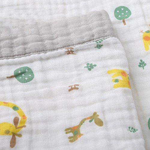 Baby Woolen Decke Baumwolle Decken Werden Von Sechs Gaze Babydecke Wrap Decke Klimaanlage Decke Baby Bedeckt,B-63.0*47.2in