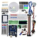 Luckiests Learning Kit LCD1602 Modul Digit Rohr Starter Kit kompatibel für Arduino UNO R3 RFID