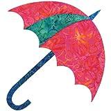 AccuQuilt GO. Tela de Corte Die-Dancing Paraguas de Sitar Edyta