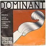 Dominant Strings 142 1/2 Corde de La pour Violoncelle Taille 1/2 - Chrome