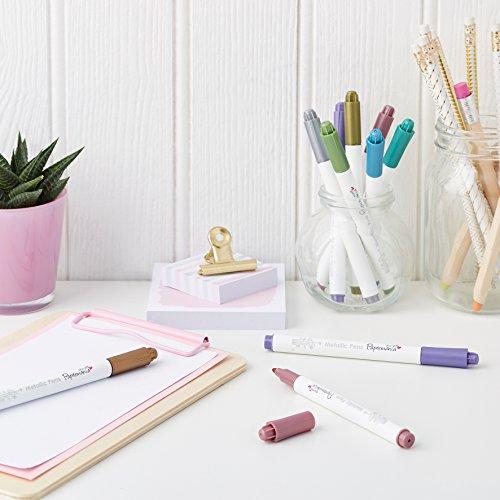 Metallic Pens 8 Shimmery Colours - 4