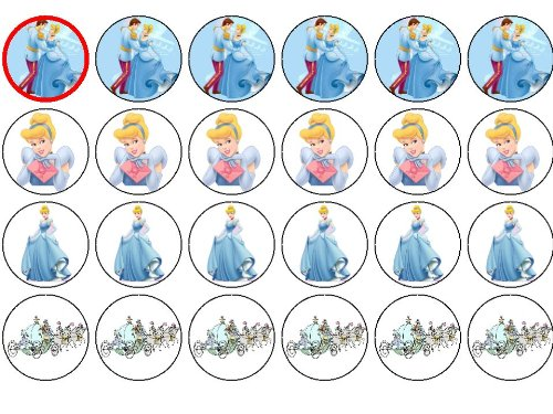 24 Cinderella Kuchendeckel