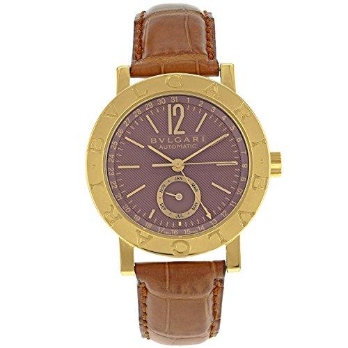 Diagono firmati BULGARI BB 38 GL AC 18 KB di orologi da Uomo oro giallo