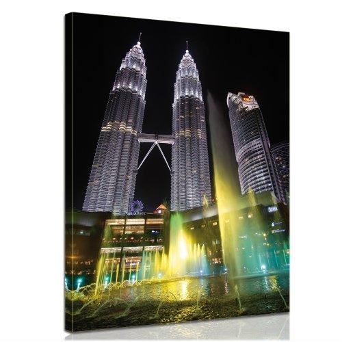 bilderdepot24-immagine-su-telaio-a-cunei-petronas-twin-tower-90x120cm-stampa-su-tela-di-cotone-100-i