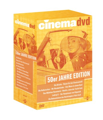 Cinema 50er Jahre Edition (10 DVDs)