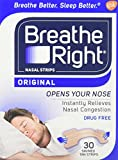 Breathe Right Nasal Strips, Small /Medium-30 ct. by Breathe Right