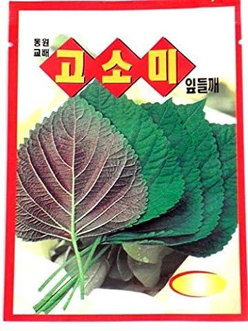 Holtgarden Sesame Leave Seeds Korean.