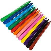 yeahibaby lápices no tóxico lavable, los mejores: lápices para niños, 12colores diferentes