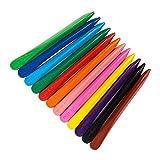 YeahiBaby Crayons non-toxique lavable, Les meilleurs crayons pour enfants, 12 couleurs uniques