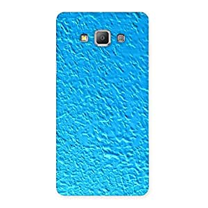 Enticing Premier Blue RPattern Back Case Cover for Galaxy A7