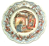Royal Doulton Brambly Heckenschere Winter Hauptplatine für Jill Barklem–1982cp1058