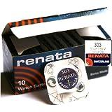 1 Pile Renata x 303 SR44SW Batterie au Lithium