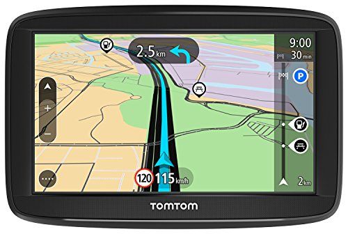 TomTom Start 52 EU45 navigatore 12,7 cm (5') Touch screen Palmare/Fisso Nero 235 g