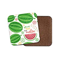 1 x DestinationVinyl One in a Melon Coaster - Best Friend Thanks Teacher Mum Sister 19038