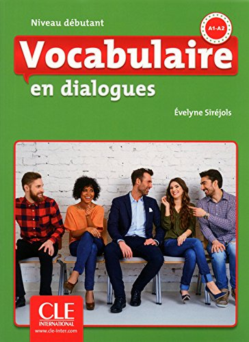 Vocabulaire FLE niveau débutant En dialogues,  A1-A2 (1CD audio MP3)