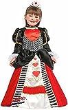 fabrication italienne fille de luxe reine de coeur Alice au pays des Merveilles Ecole SEMAINE / jour mondial du livre costume déguisement 3-10 an - 7 years