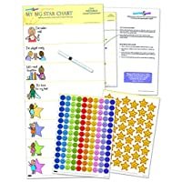 My Big Star Reward Chart (2yrs up) Award Winning, Great Results, Manage Toddler Development with Positive Reinforcement (25 x 11 inches)