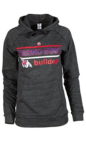 NCAA Fresno State Bulldogs Butter soft Tri-Onyx Pullover Hoodie, X-Large, Tri-Onyx