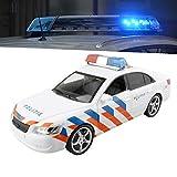 TOI-Toys Police Car Spielzeug Rettungsfahrzeug mit Licht und Sound, Spielzeug für Kinder im Alter von 4 5 6 7 8 9 10 11 12 13 14 15 16 Jahre Alt