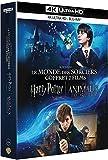 Coffret j. k. rowling 2 films : harry potter à l'école des sorciers ; les animaux fantastiques 4k ultra hd [Blu-ray] [FR Import]