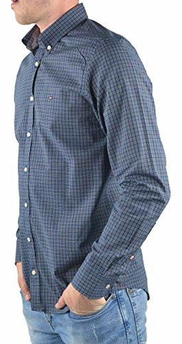 Tommy Hilfiger Hemd blau kariert ND