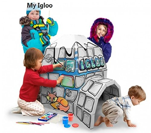 kids-childrens-cardboard-colour-in-playhouse-igloo-houses-for-kids-to-colour