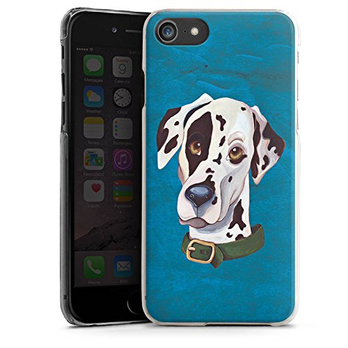 Apple iPhone 5 Hülle Case Handyhülle Dalmatiner Hund Dog Hard Case transparent
