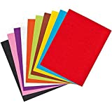 #5: Asianhobbycrafts 10 Pc Colored Felt Pack : A4 Size (multi)