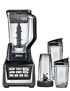 Nutri Ninja 1500W Blender Duo with Auto iQ BL642UK [inc 2.1L Pitcher & 3 x Tritan Cups]