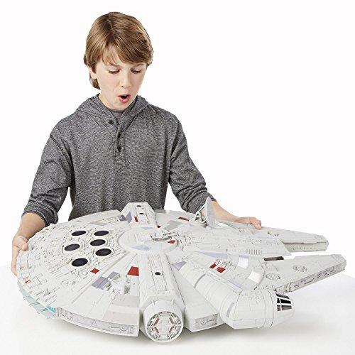 Preisvergleich Produktbild Star Wars Hero Series Raumschiff Millennium Falcon Exclusive 60 cm Fertigmodell