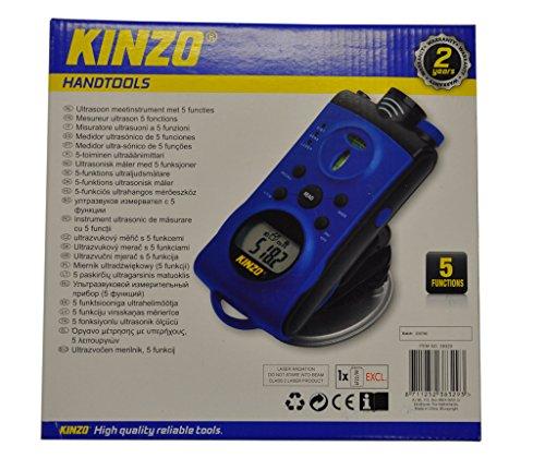 KINZO ultraschall Entfernungsmesser 5 in 1 Mehrfachstrahl Scanner 16m Messbereich