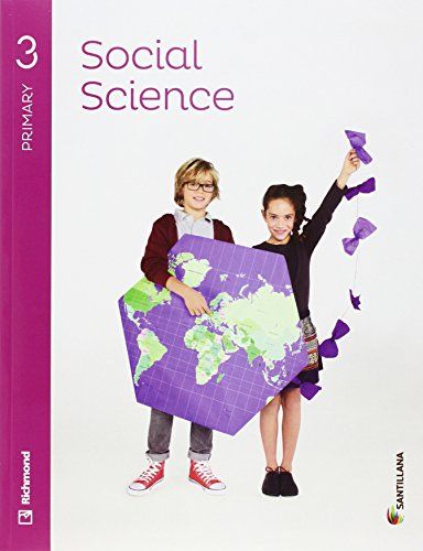 SOCIAL SCIENCE 3 PRIMARY STUDENT'S BOOK + AUDIO - 9788468088037