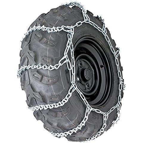 '1Set de chaînes à neige (Lot de 2) pour quads
