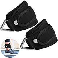 SUPRBIRD Grip Power Pads Best Ankle Straps for Cable Machines Adjustable Neoprene Premium Cuffs to Enhance Legs, Abs & Glutes For Men & Women