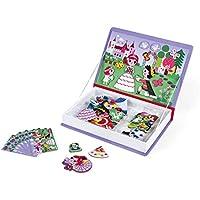 Janod Magneti'Book Princesas, Color púrpura (Juratoys J02725)